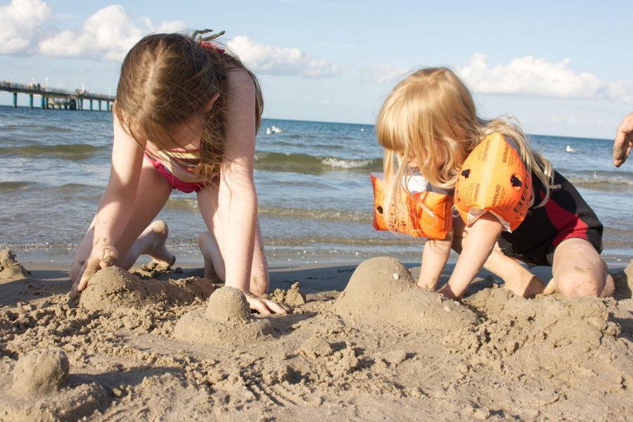 Ferienwohnung Binz mit Kind
