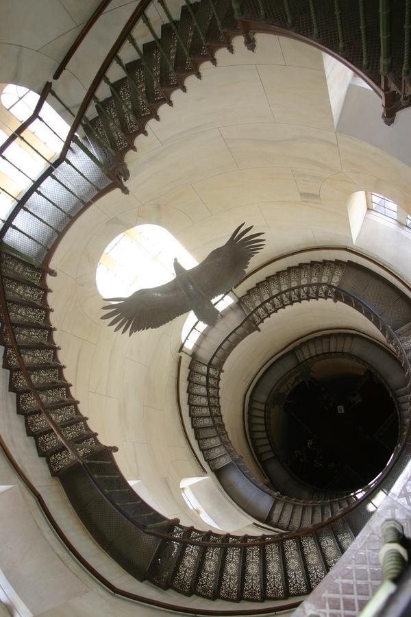 Jagdschloss Granitz Turm Treppe