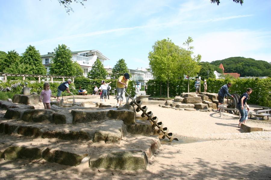 Ferienwohnung Binz Spielplatz Kurpark