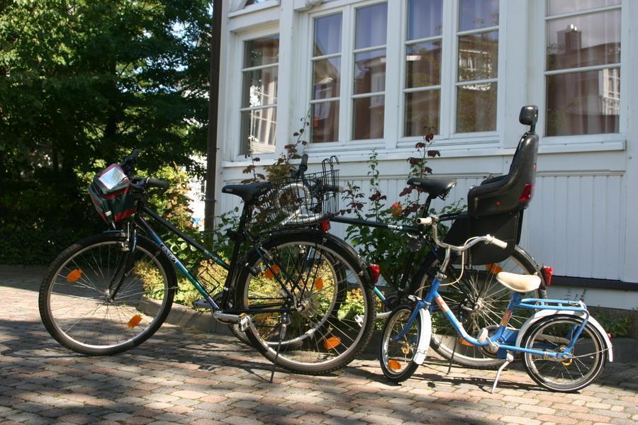Ferienwohnung Binz mit Fahrrad