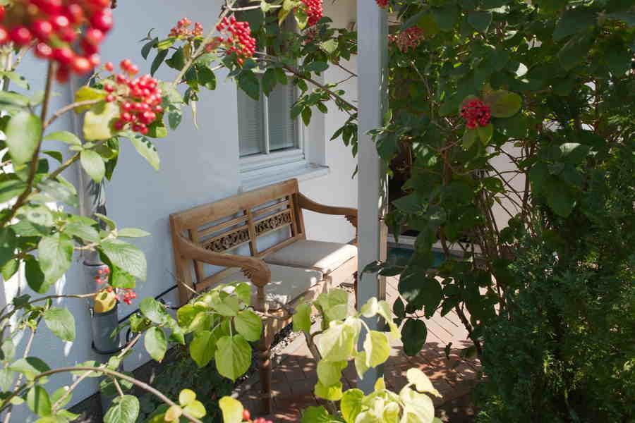 Ferienwohnung Binz Terrasse