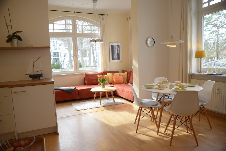 Villa Sirene Binz modernes Appartement
