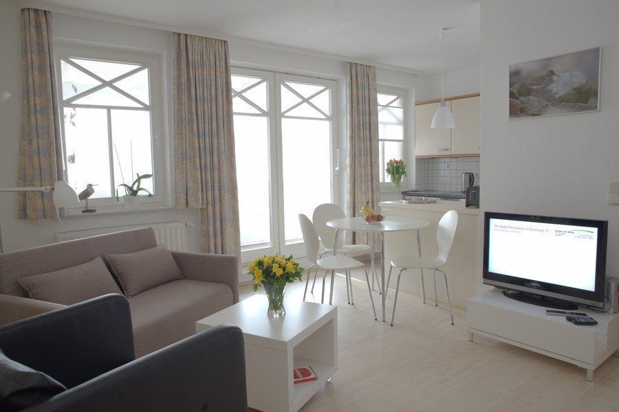 Appartement Binz Balkon