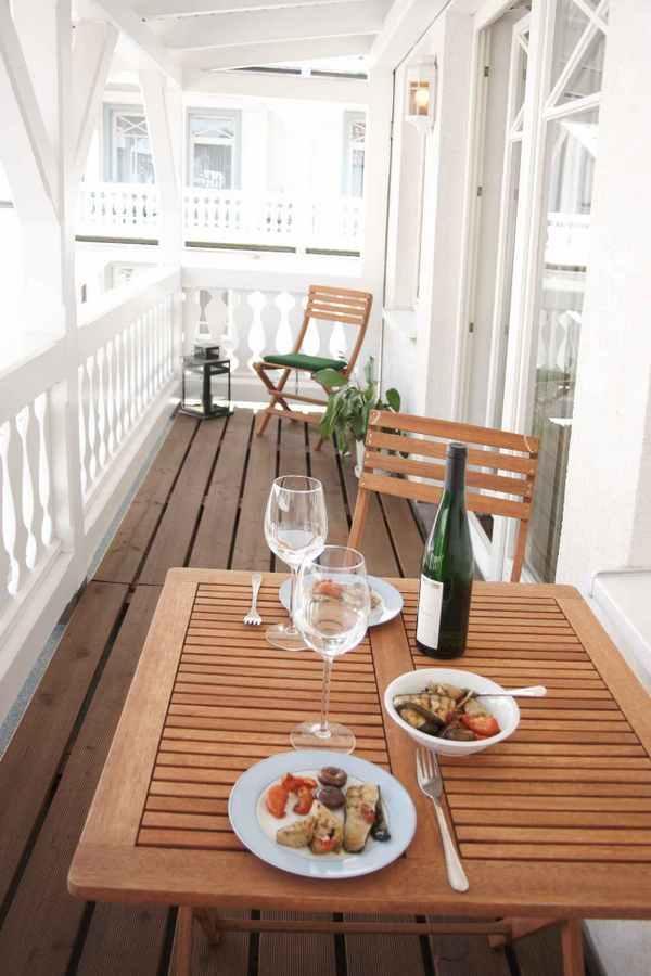 Ferienwohnung Binz Balkon