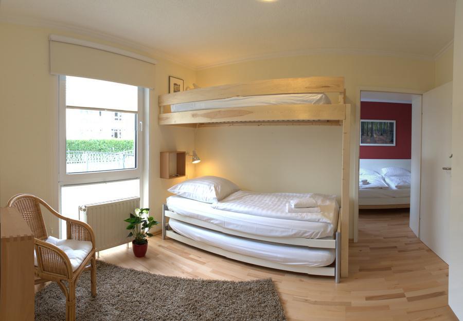 Ferienwohnung Binz mit 2 Schlafzimmern für 4 Personen