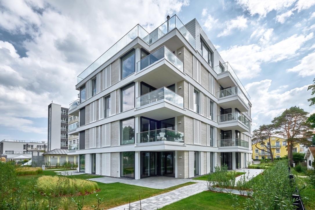 Villa Vogue Binz Meerblick