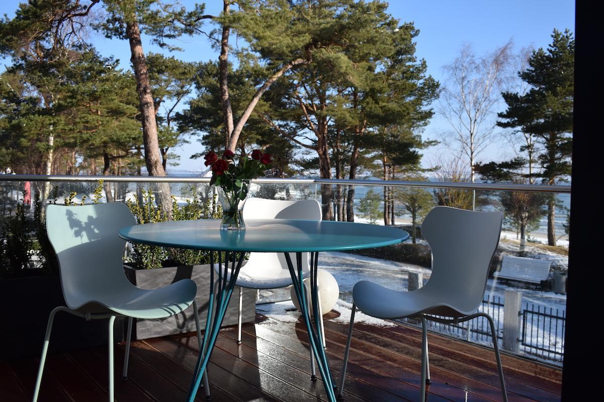 Villa Vogue Balkon Meerblick Luxuswohnung