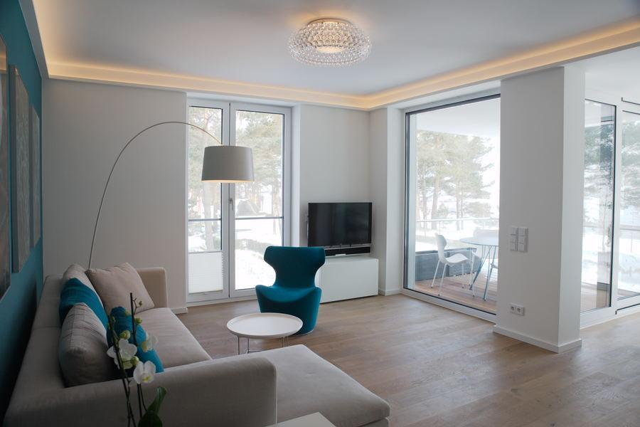 Villa Vogue Binz Luxuswohnung Binz Strandpromenade Panorama- Meerblick