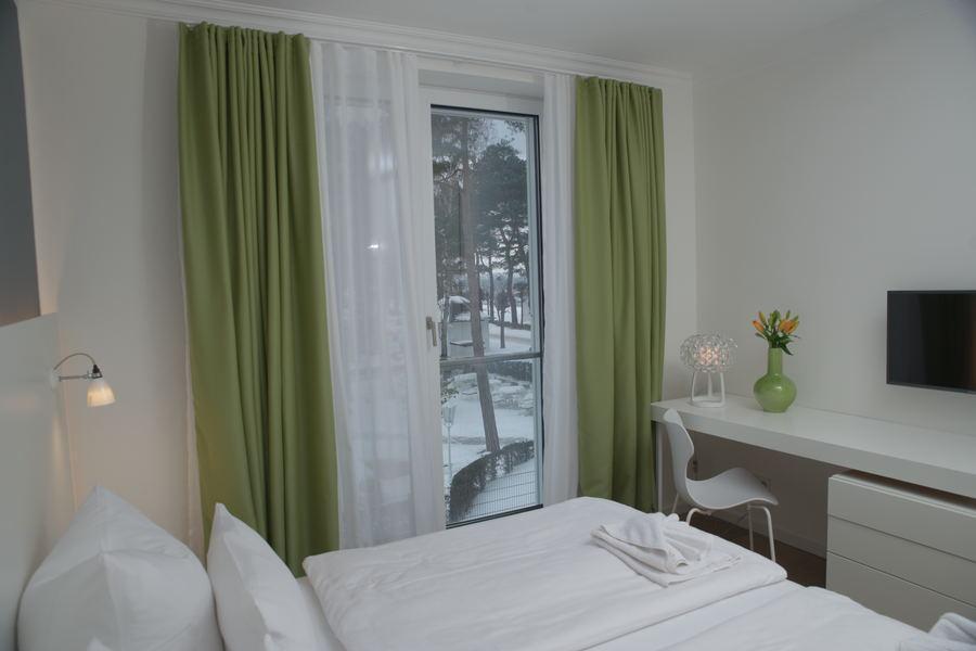 Villa Vogue Strandpromenade 2 Schlafzimmer Lichtkonzept
