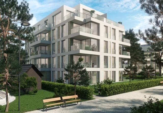 Villa Vogue Binz - Visualisierung der Architekten Baukomplex Leipzig